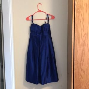 Melissa Sweet Royal Blue Bridesmaid Dress, Size 6